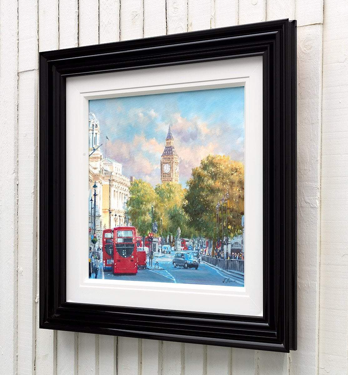 Good Morning London - Original Joe Bowen Framed