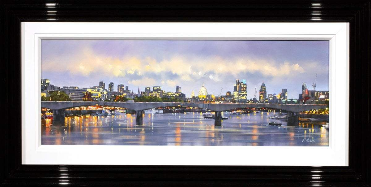 London Skyline Joe Bowen Framed