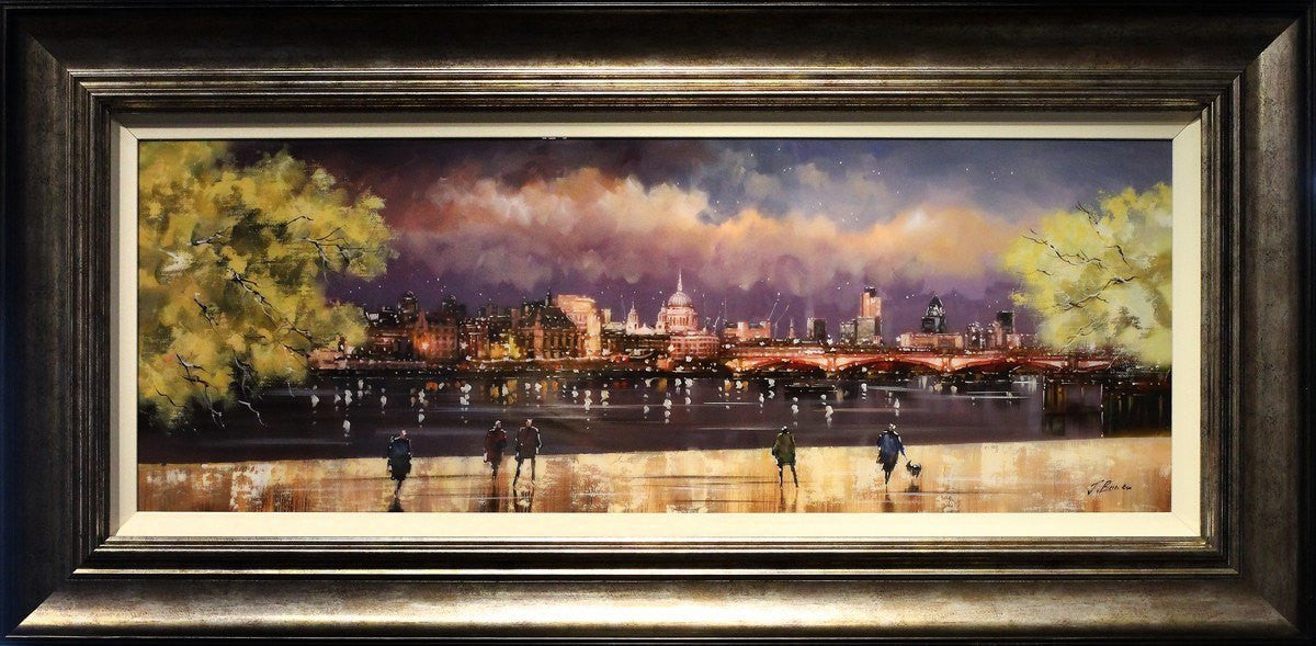 St Paul's At Dusk - SOLD Joe Bowen