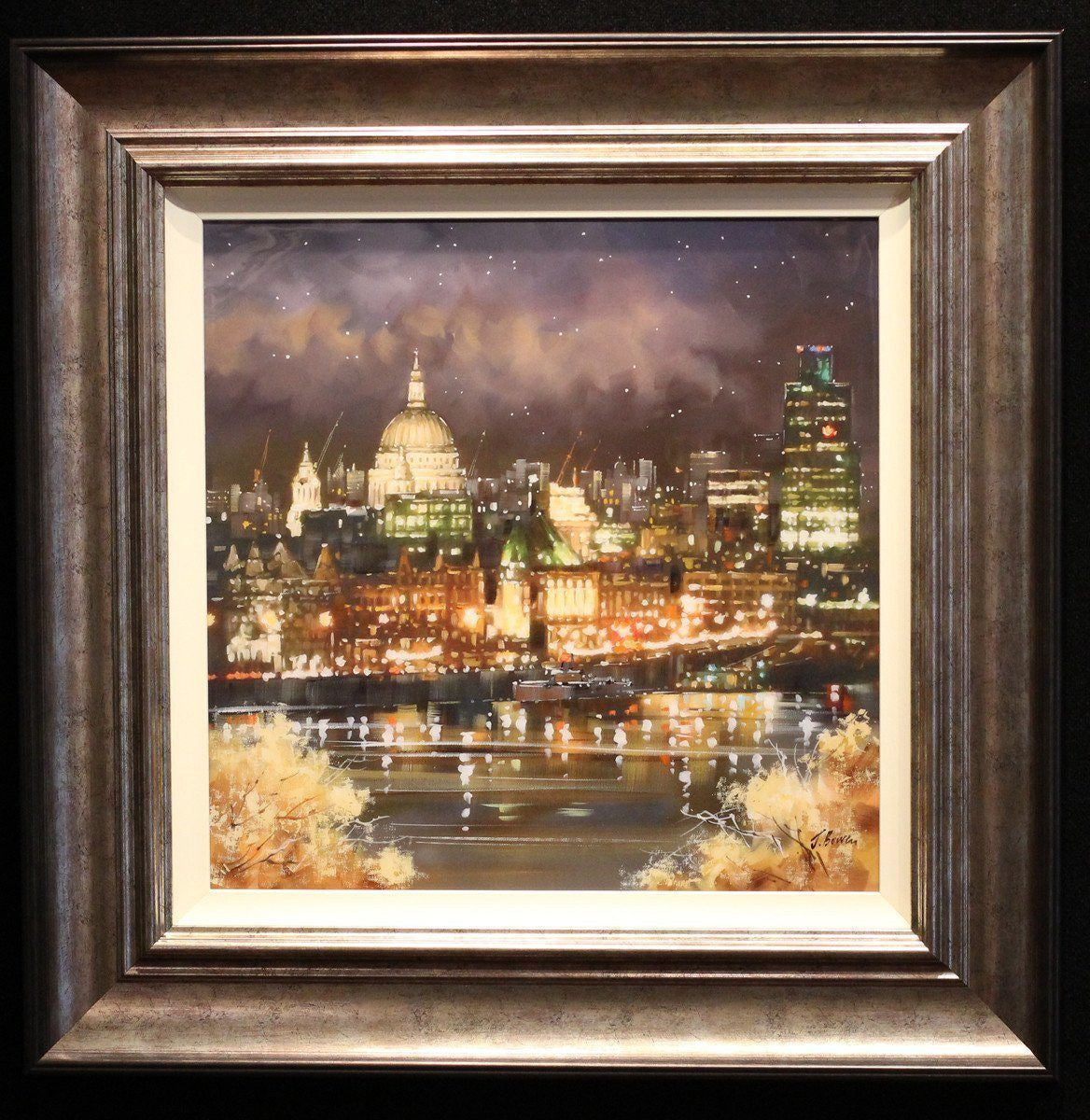 Starry Night at St Pauls - SOLD Joe Bowen