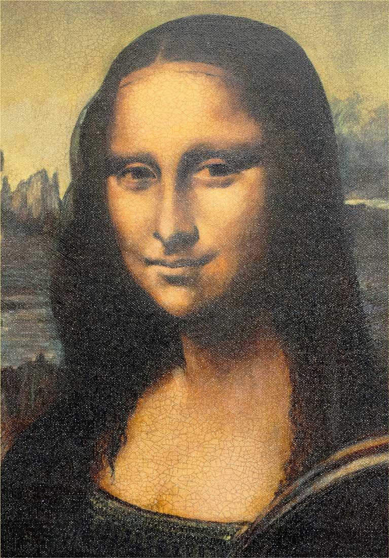 Mona Lisa in the Style of Leonardo Da Vinci - Limited Edition John Myatt