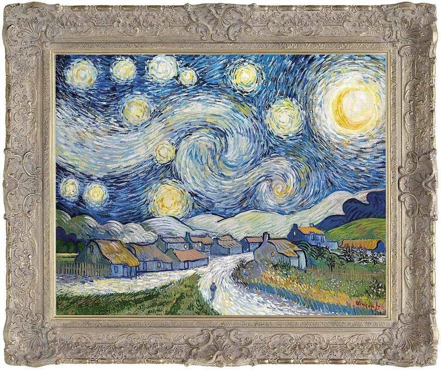Starry Night (after Van Gogh) - SOLD John Myatt