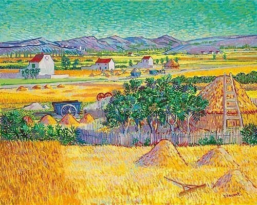 The Harvest (after Van Gogh) John Myatt