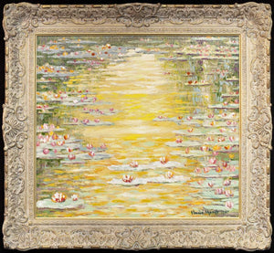 Waterlillies,1907 - Edition - RARE John Myatt Framed