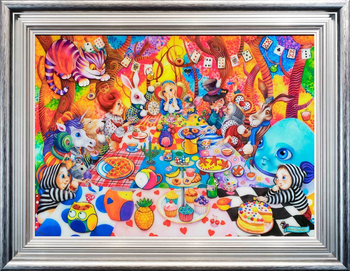 A Mad Tea-Party - Selling Fast Kerry Darlington