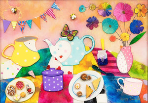 Afternoon Tea at the Jolly Hockysticks Cafe - Original Kerry Darlington