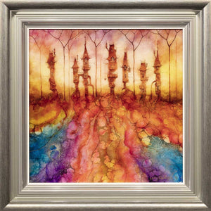 Aghamora Grove - Original Kerry Darlington Framed