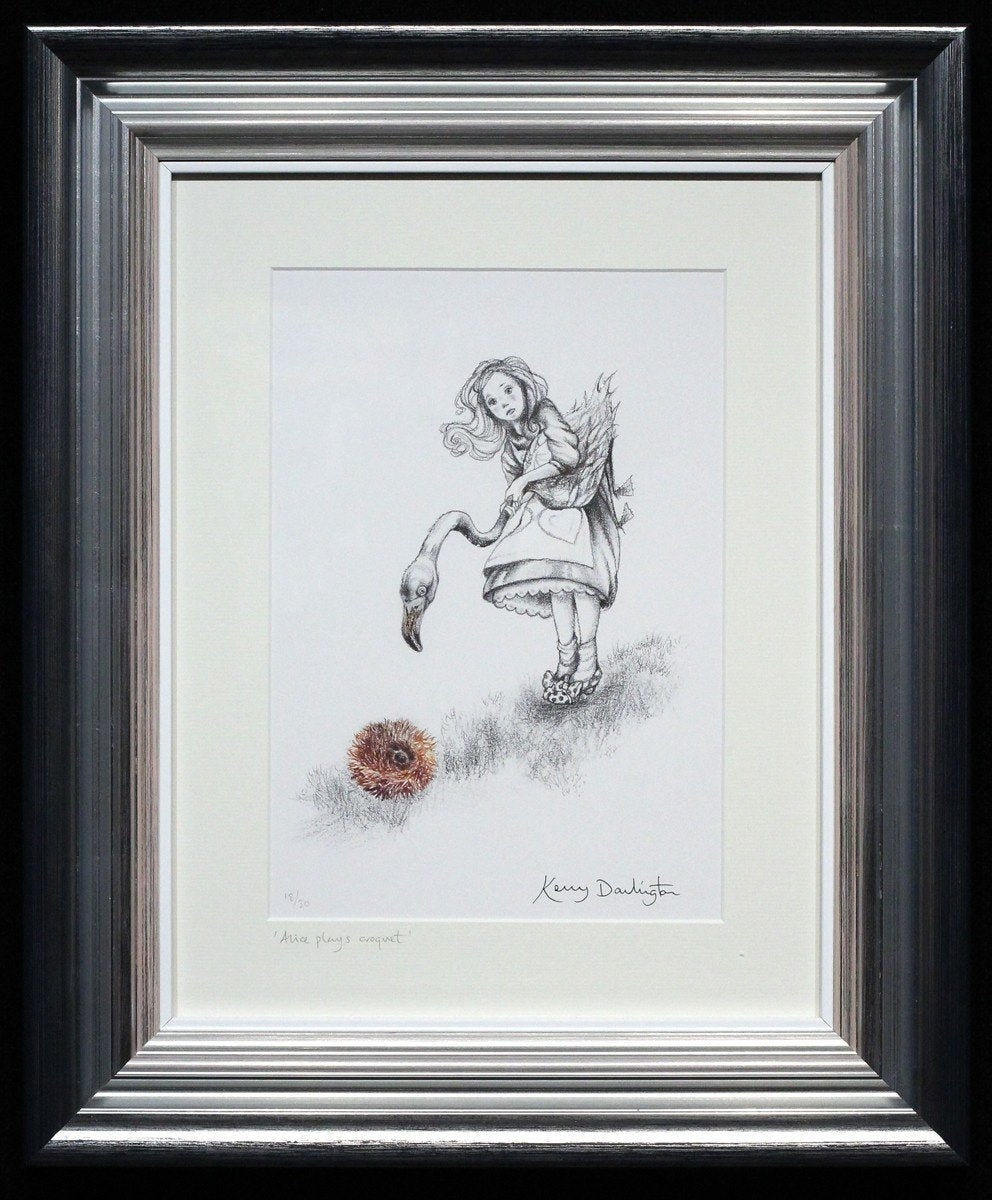 Alice Boutique Sketch Collection - Edition - SOLD Kerry Darlington