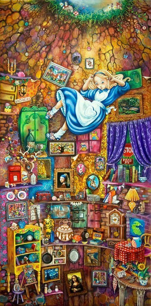 Alice Down the Rabbit Hole - SOLD OUT Kerry Darlington