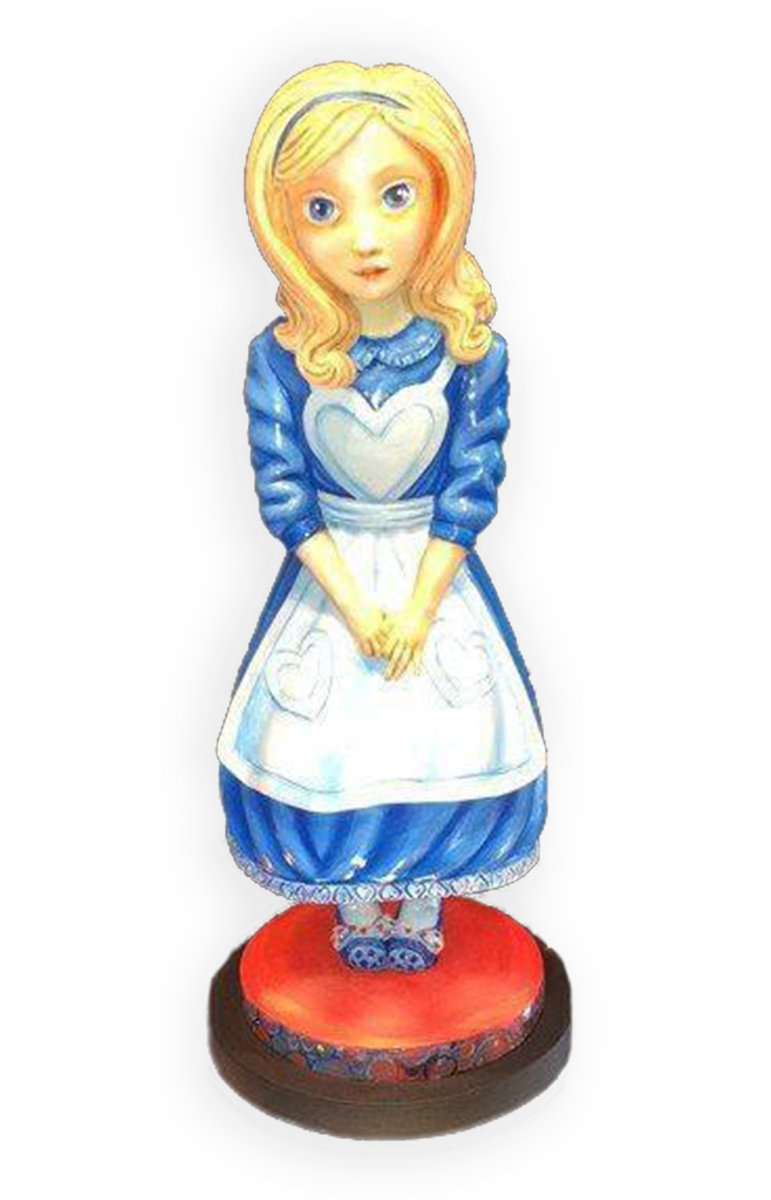 Alice in Wonderland Sculpture - Edition
