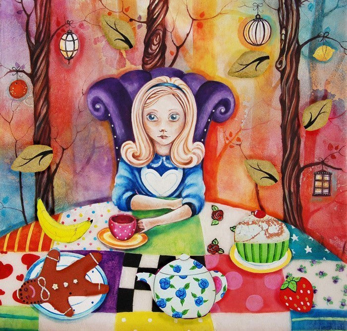 Alice - Original SOLD Kerry Darlington