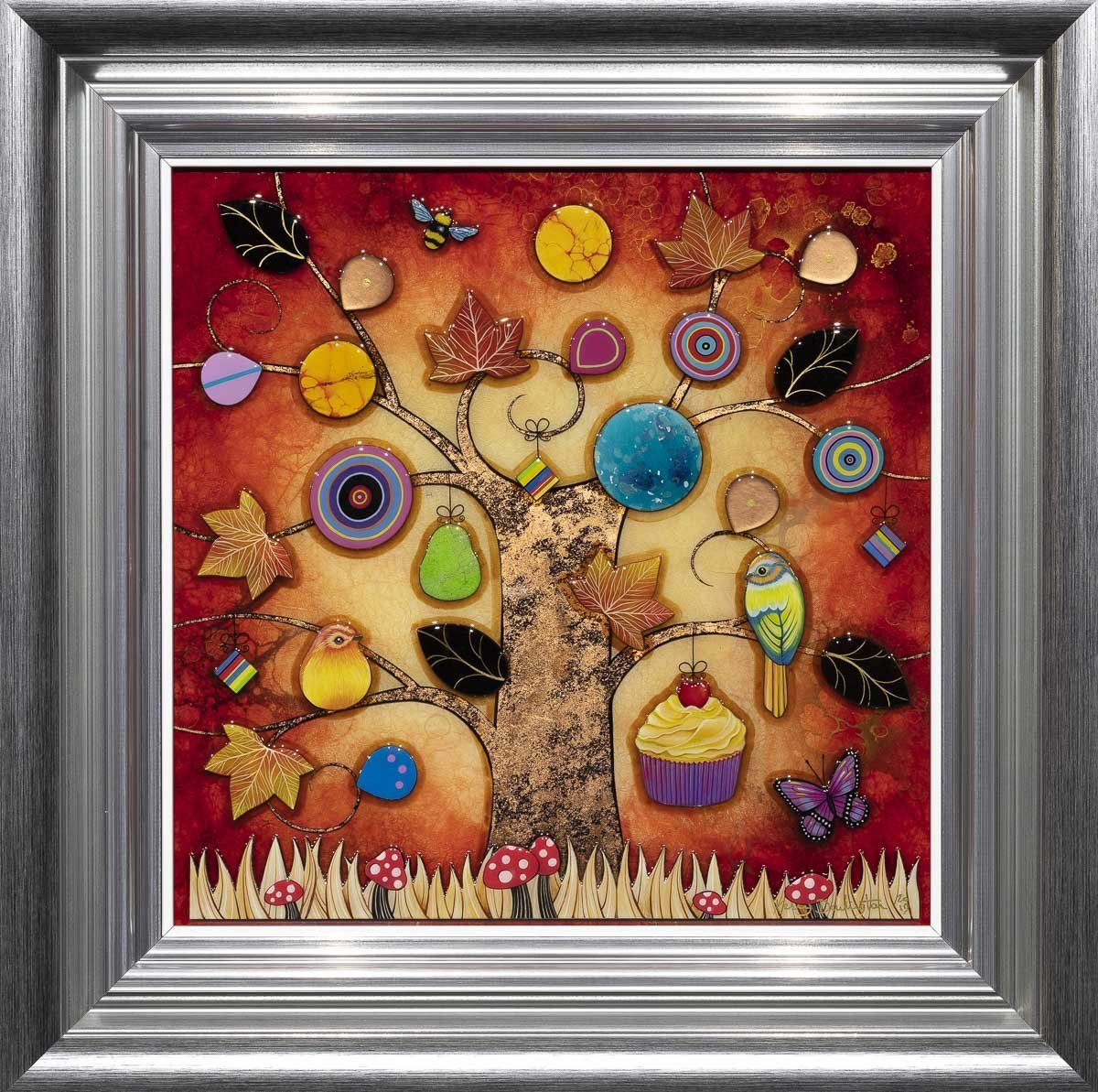 Autumn Harvest - Original Kerry Darlington Framed