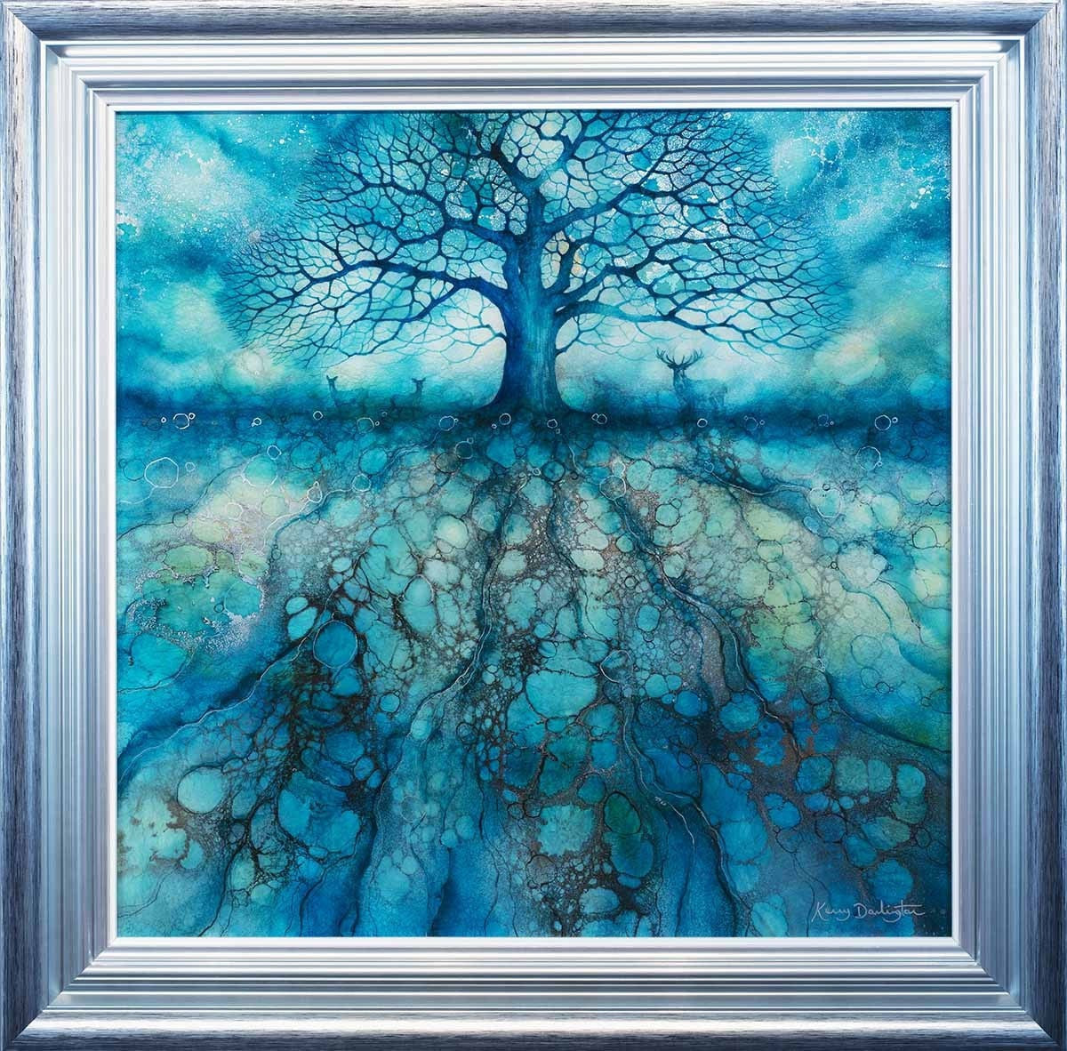 Azure Haze - ORIGINAL Kerry Darlington