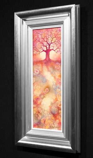 Cherry Blossom - Original Kerry Darlington Framed