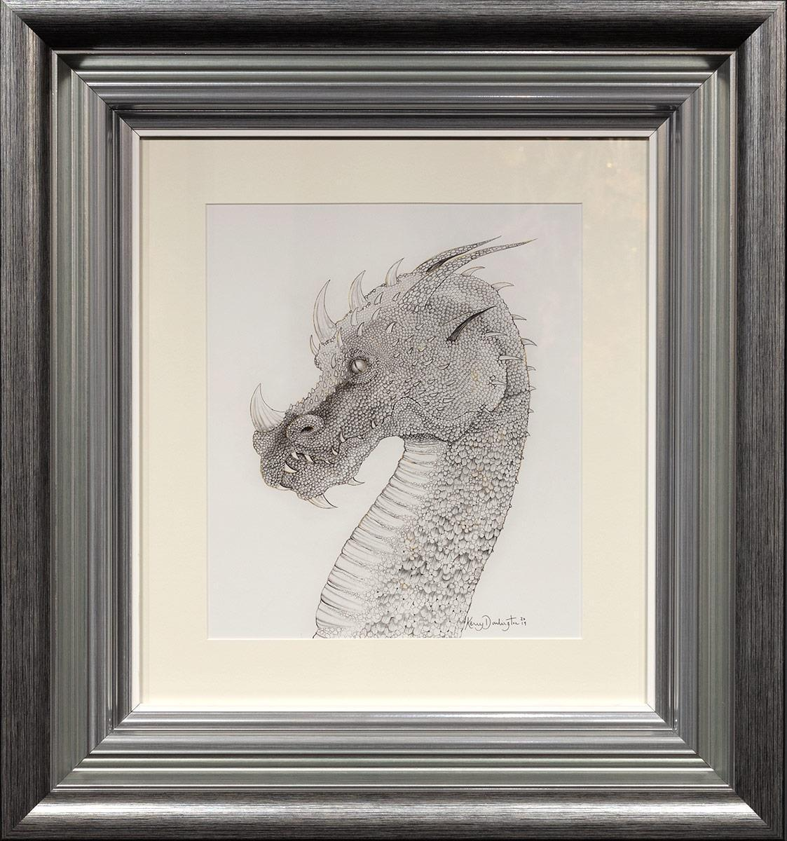 Dragon of Hidden Treasures Kerry Darlington Framed