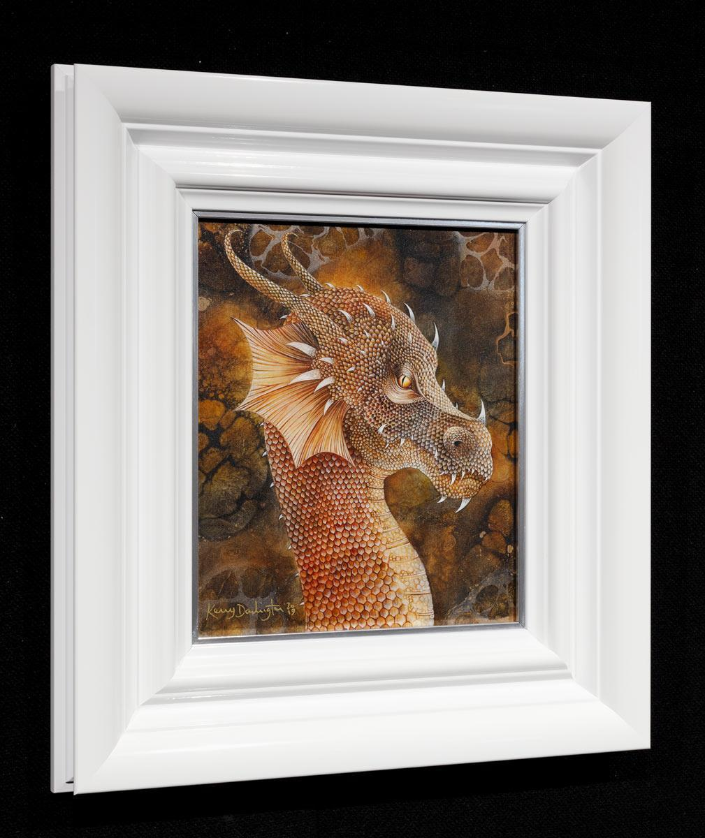 Dragon of the Underworld Kerry Darlington Framed