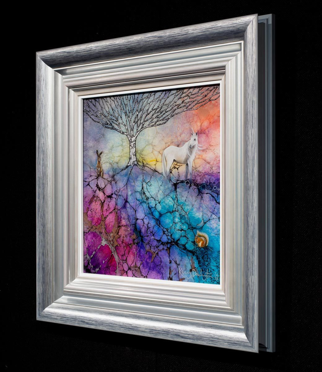 Eternity in the Hour - Original Kerry Darlington Framed