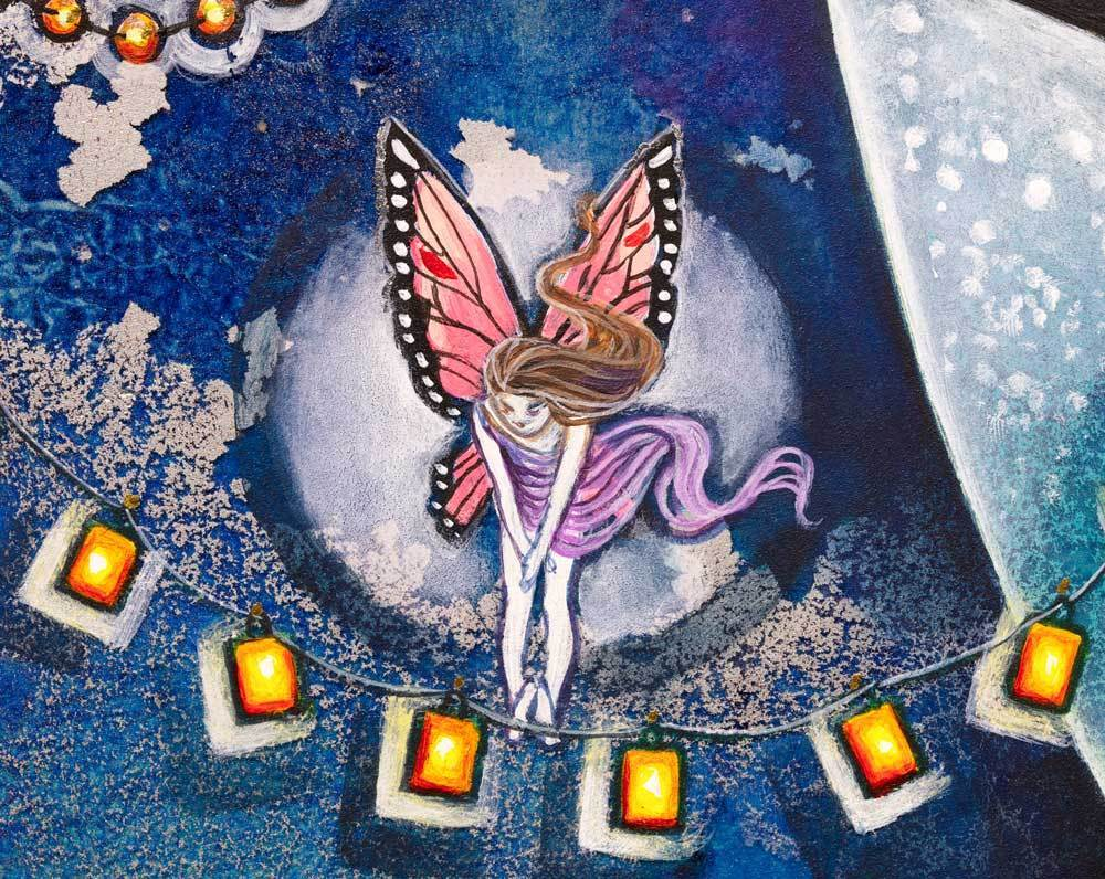 Fairy Lanterns - Original Kerry Darlington ORIGINAL