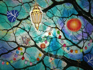 Fairy Lights - ORIGINAL Kerry Darlington