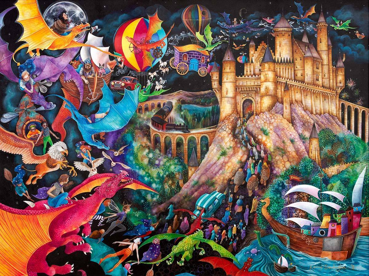 Flight of the Dragons - Original Kerry Darlington