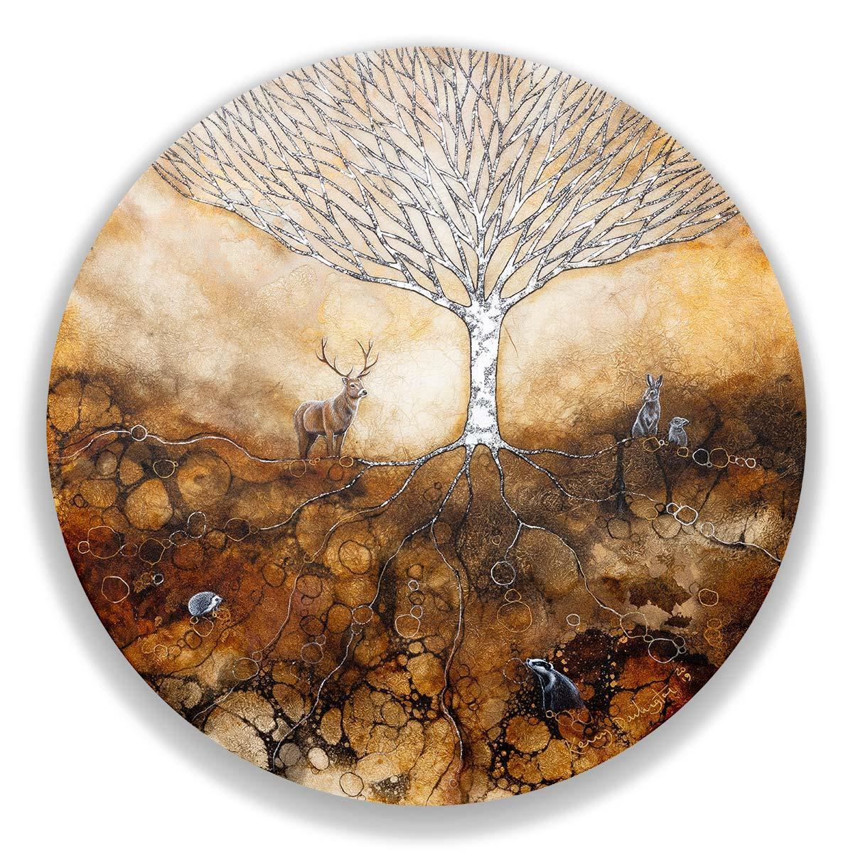 Goddess Tree Kerry Darlington Framed