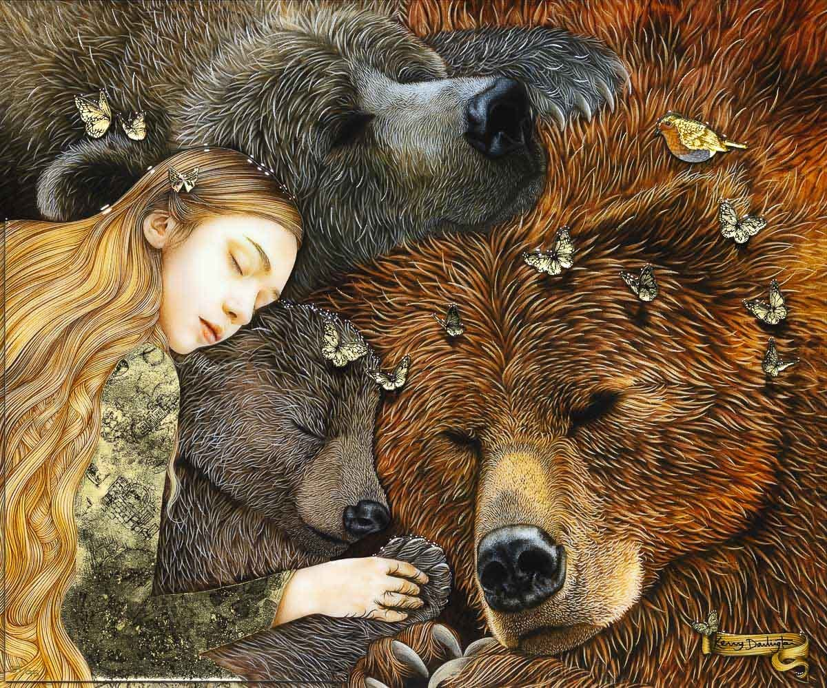 Goldilocks and The Three Bears - Edition Kerry Darlington
