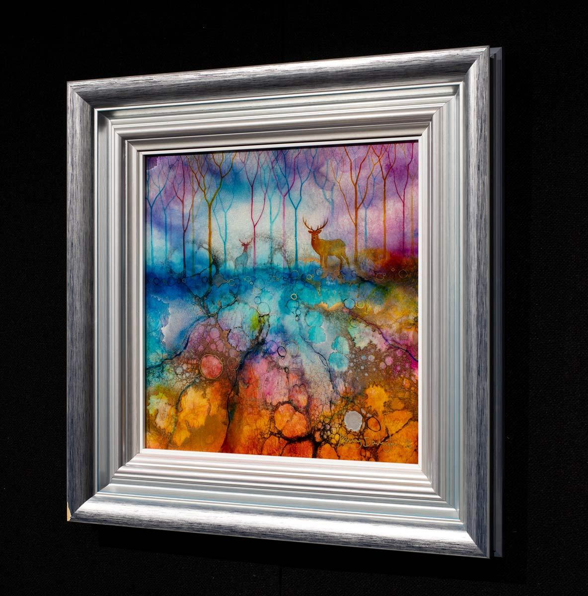 Incalescent - Original Kerry Darlington Framed