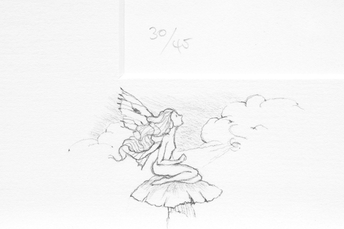 Little Tree Spirit - Rare Remarque Edition Kerry Darlington Faerie - Edition 30