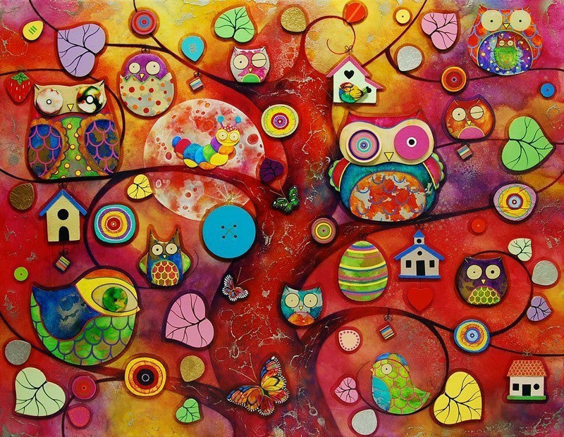 Night Owls, Early Birds - SOLD Kerry Darlington