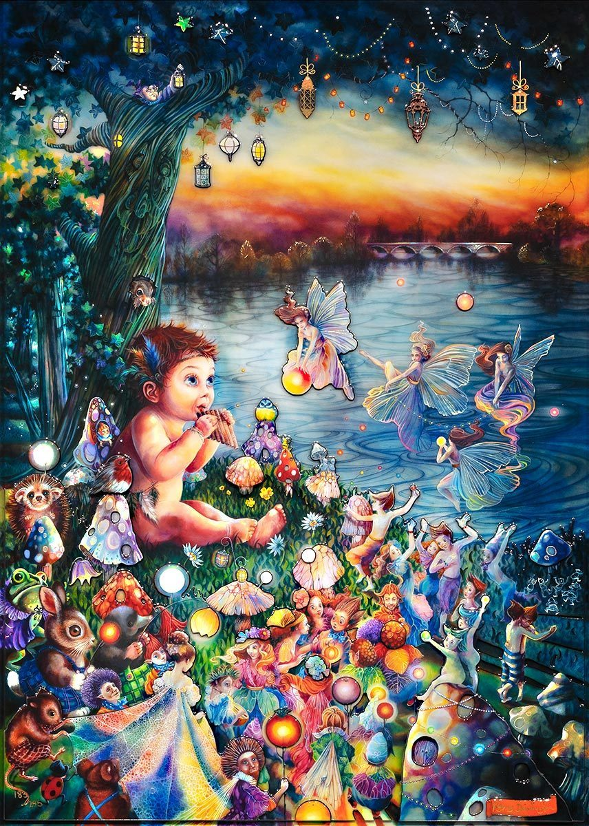 Peter Pan in Kensington Gardens - Edition - SOLD