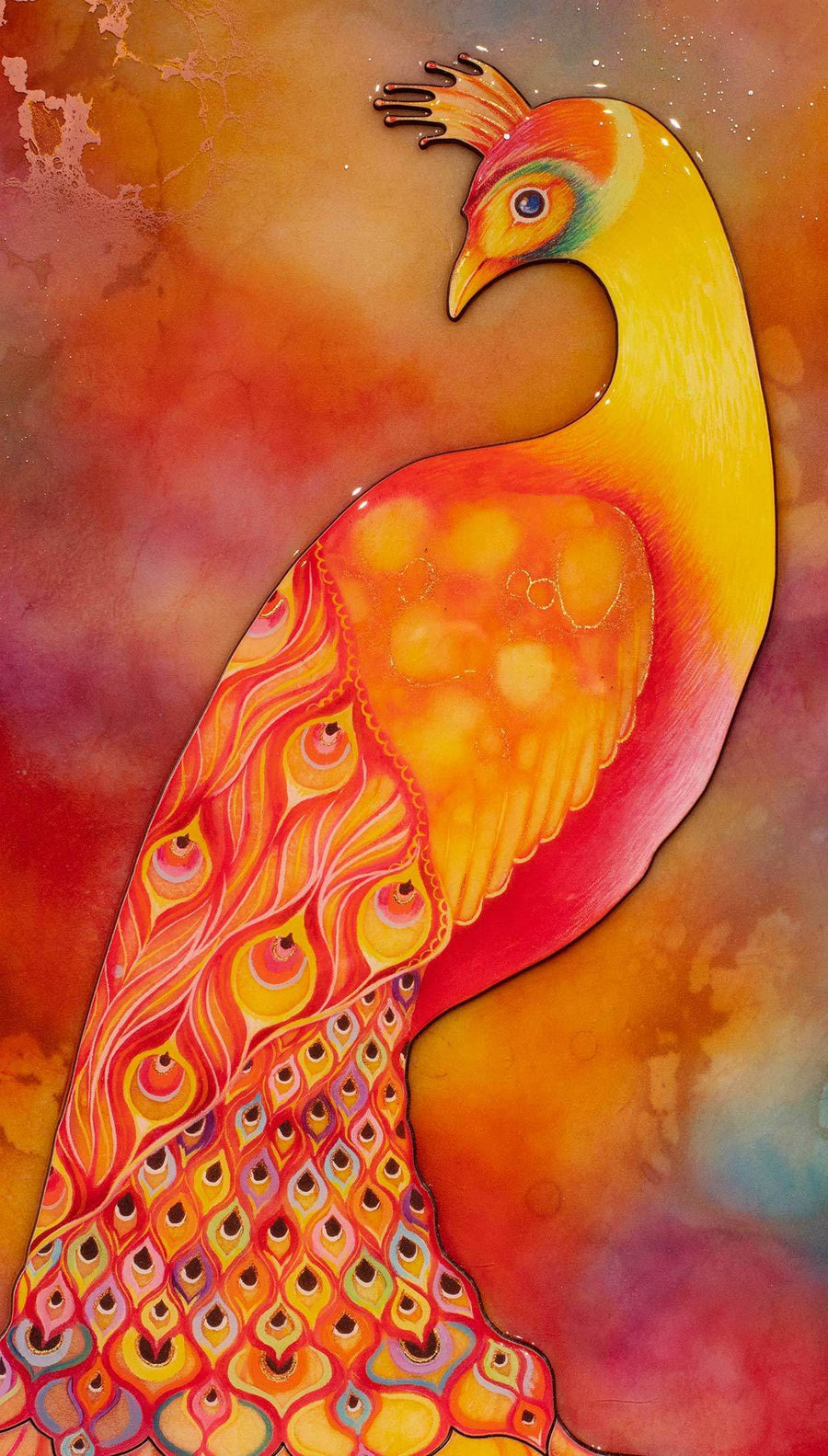 Phoenix Feathers - Edition Kerry Darlington Standard Unique Edition