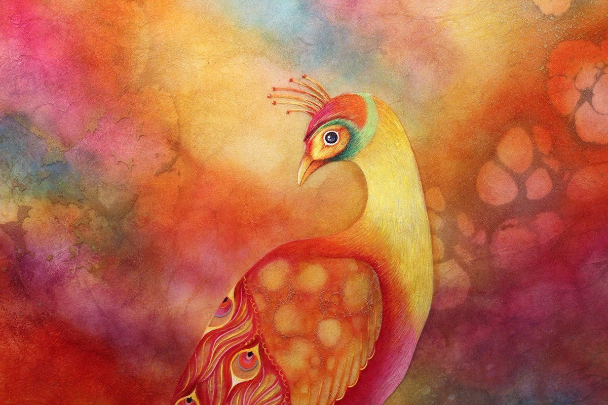 Phoenix Feathers - ORIGINAL - SOLD Kerry Darlington