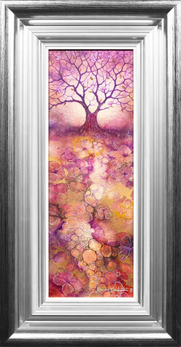 Plum Blossom - Original Kerry Darlington Framed