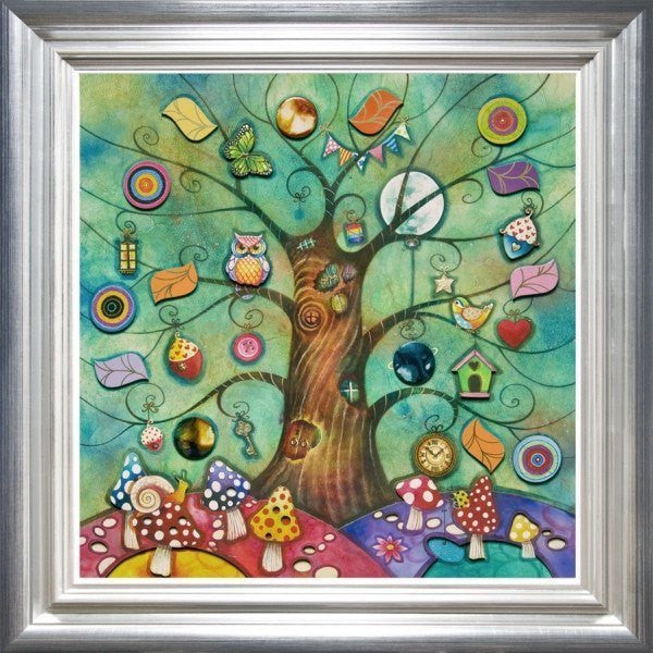 Secret Treehouse - Original SOLD Kerry Darlington