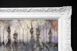 Seraphina Close - Original Kerry Darlington Framed