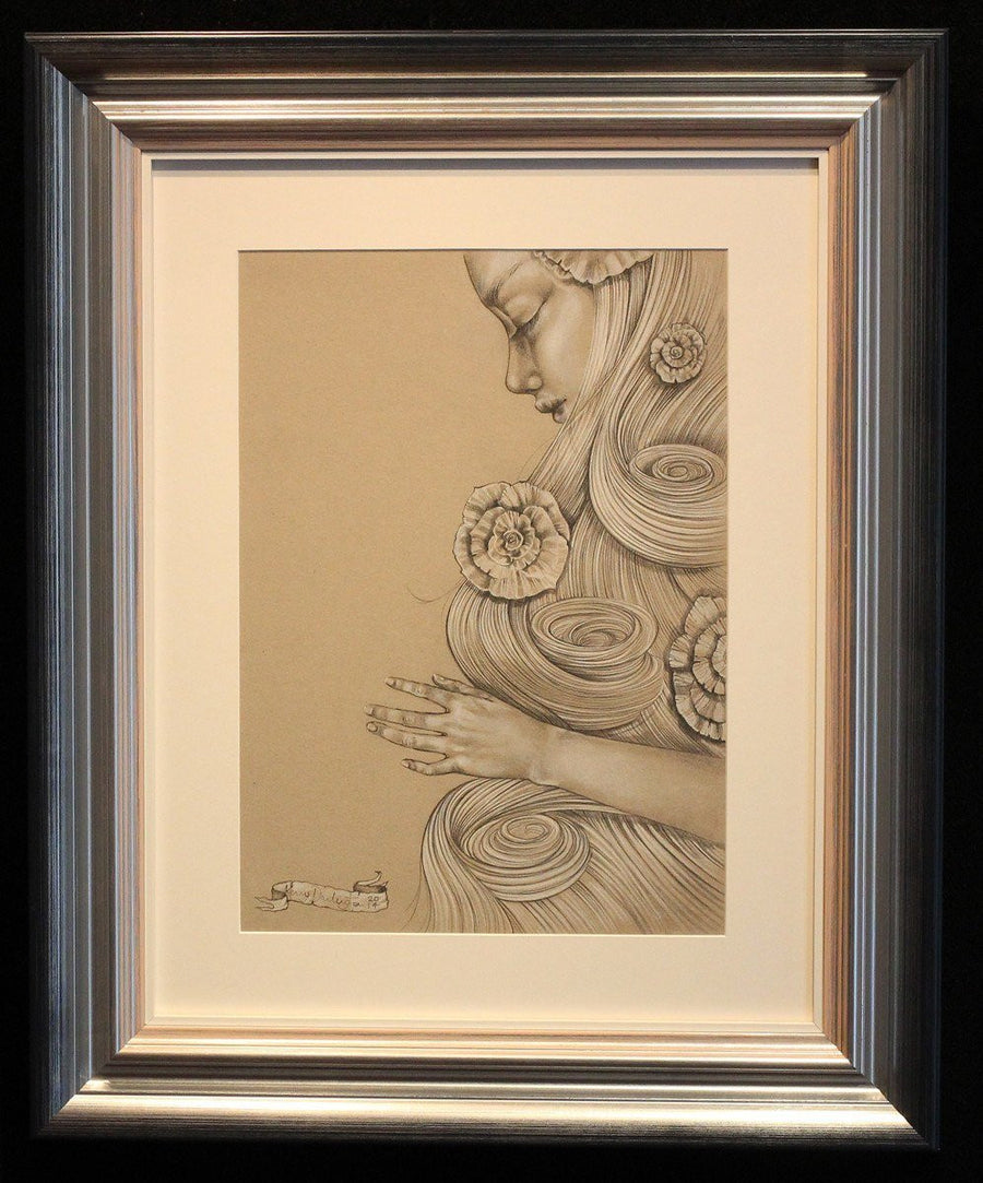 Snow White - ORIGINAL SKETCH - SOLD Kerry Darlington
