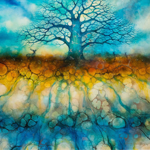 The Black Oak Speaks - ORIGINAL -SOLD Kerry Darlington