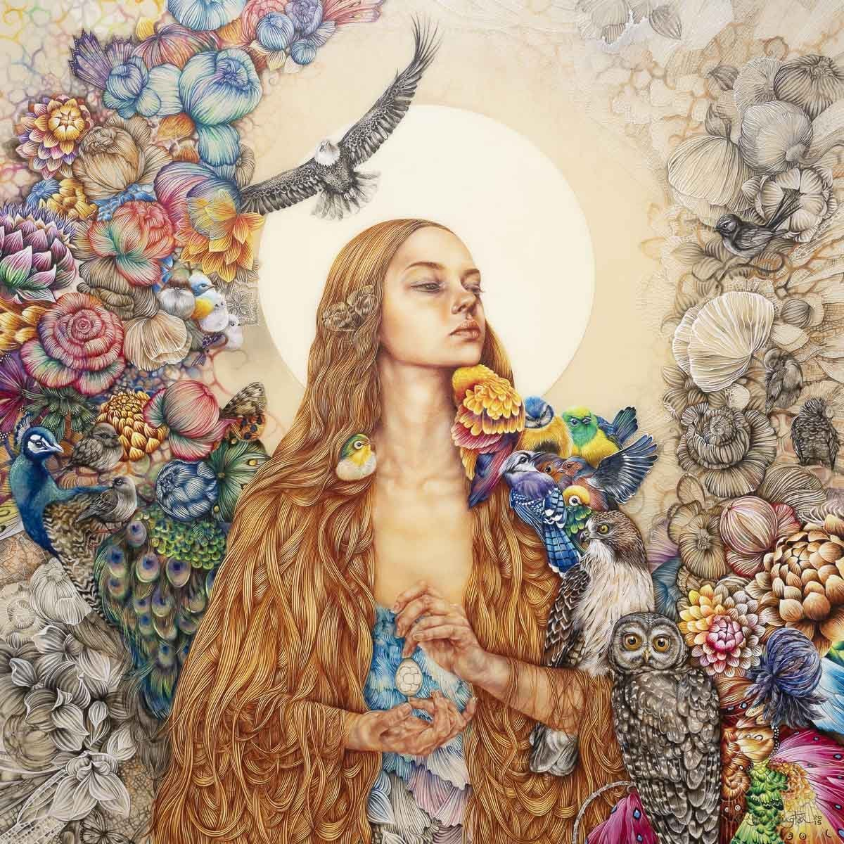 The Daughter of Gaia - Original Kerry Darlington