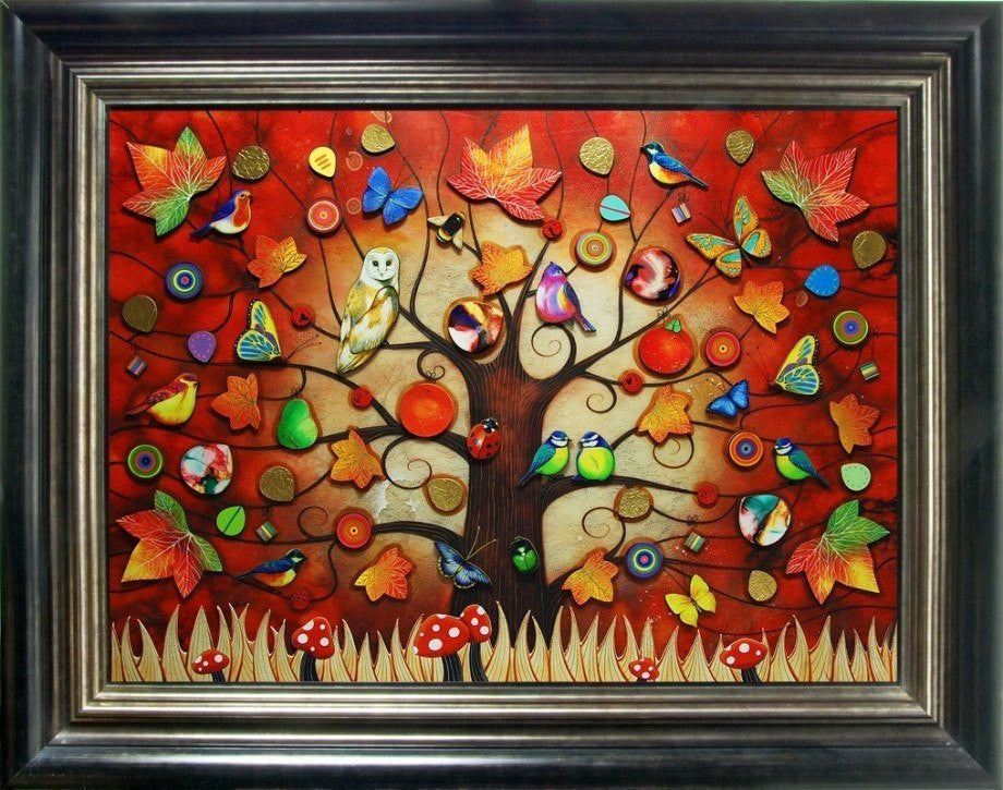 Tree of Life - Autumn - SOLD OUT Kerry Darlington