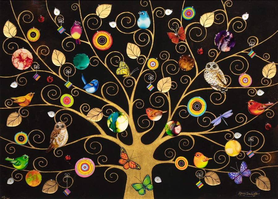 Tree of Life - Gold Kerry Darlington
