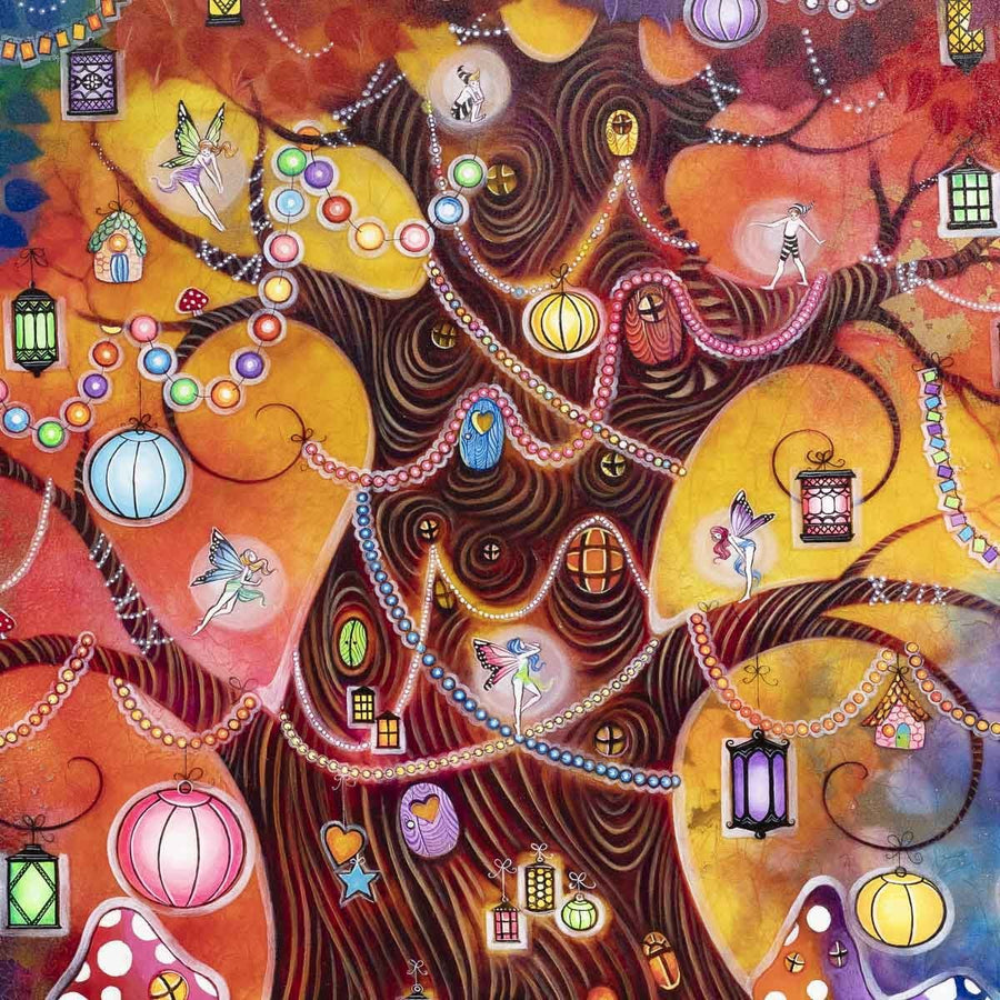 Tree of Light - Original Kerry Darlington
