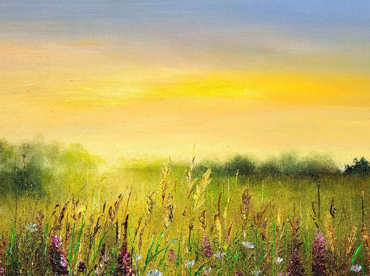Hazy Summer - Original Kimberley Harris