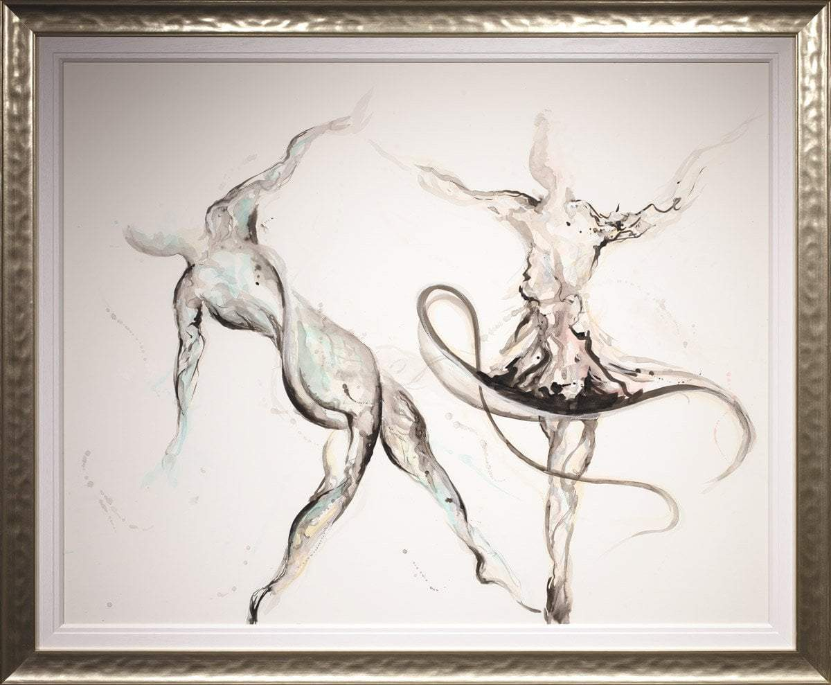 Dance With Me - Original Laura Beck Framed