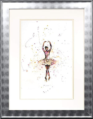 Pretty in Pink - Original Laura Beck Framed