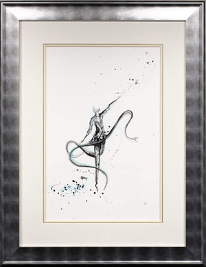 Rhythm Dancer - Original Laura Beck Framed