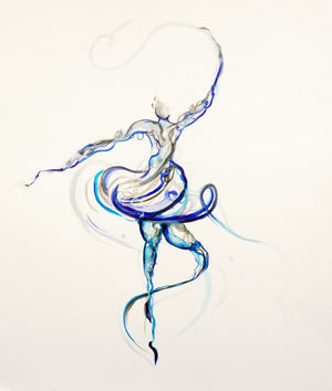 Swirl - Original Laura Beck