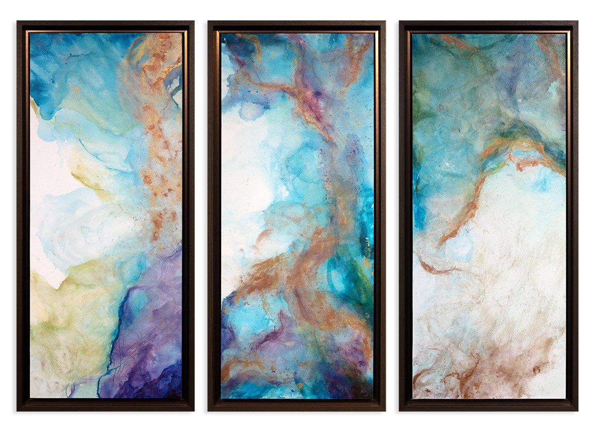 Tidal Triptych - Original - SOLD