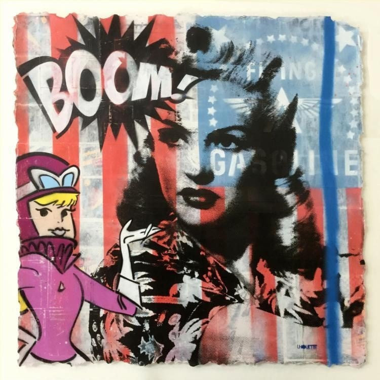 Boom! Betty - SOLD Lhouette