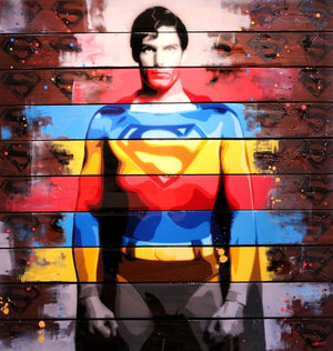 Christopher Reeve - ORIGINAL - SOLD Lhouette