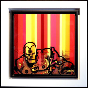 Colour Crate - Iron Man - SOLD Lhouette